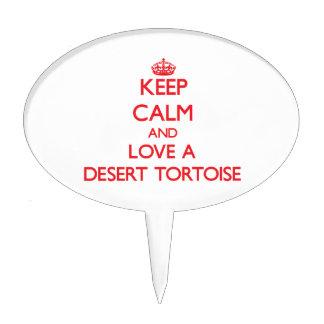 Desert Tortoise Cake Picks