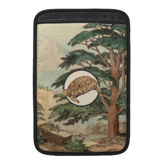 Desert Tortoise In Natural Habitat Illustration Sleeves For MacBook Air