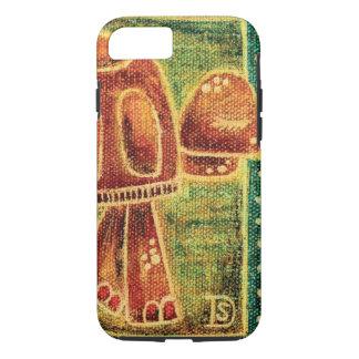 Desert Tortoise in Oil Pastel iPhone 7 Case