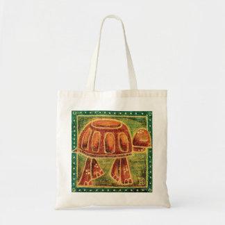Desert Tortoise in Oil Pastel Tote Bag
