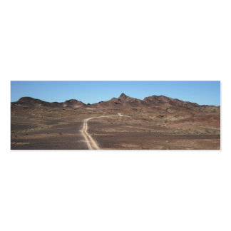 Desert Trail Landscape Photography bookmarks Business Cards