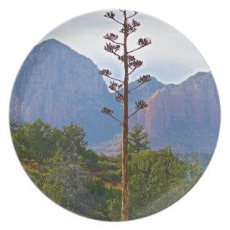 Desert trails Sedona Century plant Party Plates