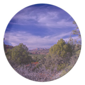 Desert trails Sedona Party Plates