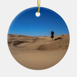 Desert Tree Ceramic Ornament