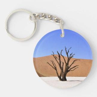 Desert Trees Keychain