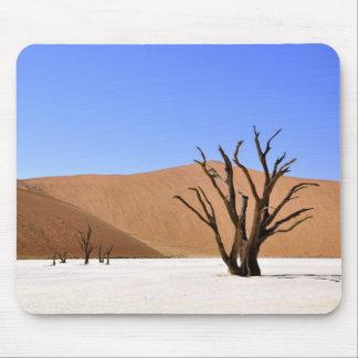 Desert Trees Mouse Pad