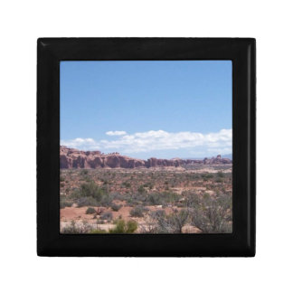 Desert View from the Distance Gift Box
