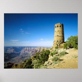 Desert View Watchtower, Grand Canyon, AZ Print
