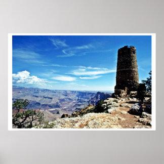 Desert View Watchtower - Grand Canyon Print