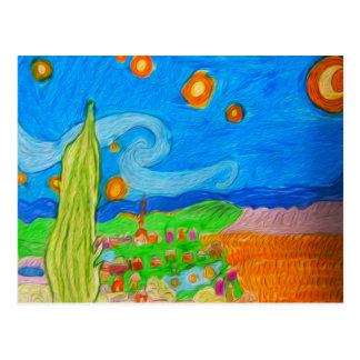 Desert Village Postcard
