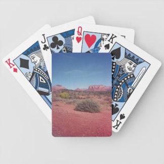 Desert Vista Bicycle Playing Cards