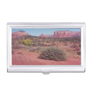 Desert Vista Business Card Case