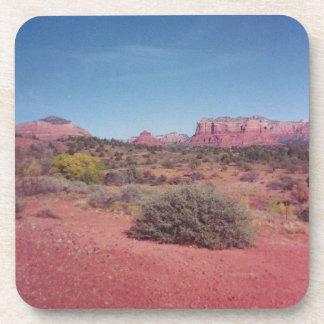 Desert Vista Cork Coaster