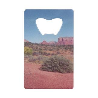 Desert Vista Credit Card Bottle Opener