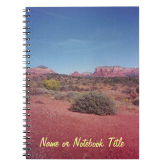 Desert Vista Custom Notebook