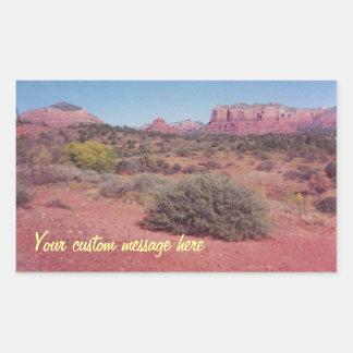 Desert Vista Custom Sticker