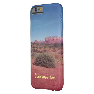 Desert Vista Personalized Barely There iPhone 6 Case