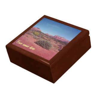 Desert Vista Personalized Gift Box