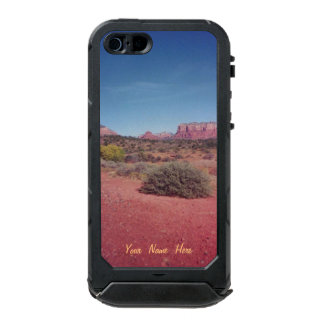 Desert Vista Personalized Waterproof Case For iPhone SE/5/5s
