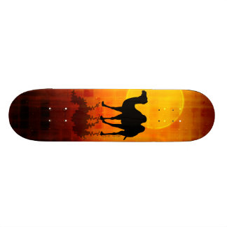 Desert Walk by Gery Sher Skateboard