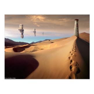 Desert Watchtower Postcard