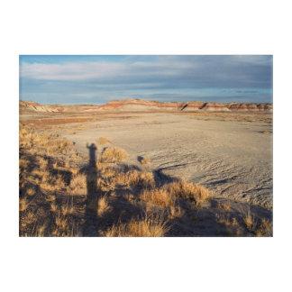 Desert Wave: Petrified Forest National Park Acrylic Wall Art