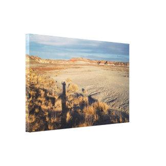 Desert Wave: Petrified Forest National Park Canvas Print