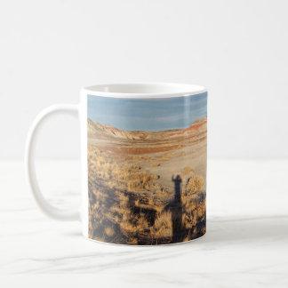 Desert Wave: Petrified Forest National Park Classic White Coffee Mug