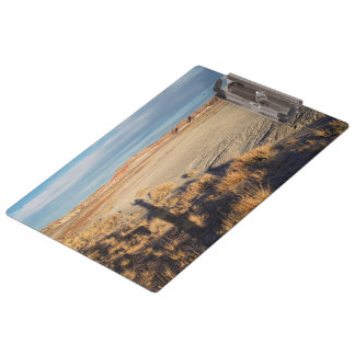Desert Wave: Petrified Forest National Park Clipboard