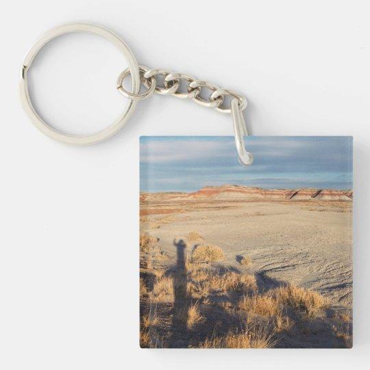 Desert Wave: Petrified Forest National Park Keychain