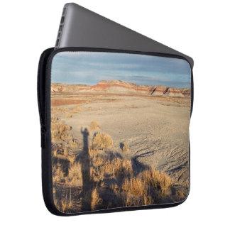 Desert Wave: Petrified Forest National Park Laptop Sleeve