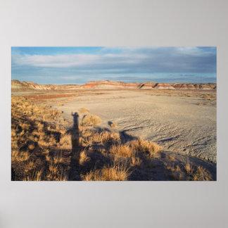 Desert Wave: Petrified Forest National Park Poster