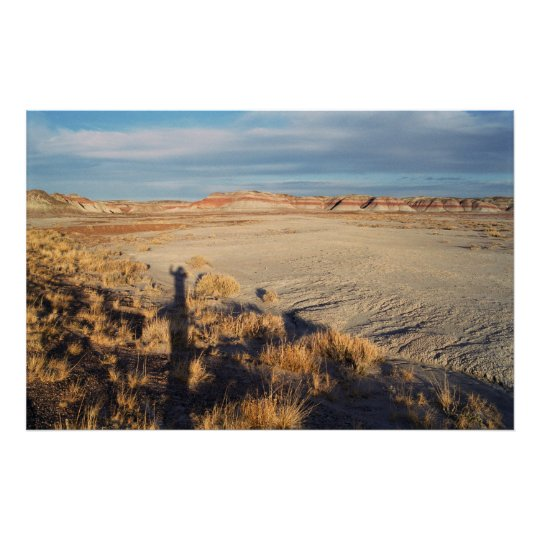 Desert Wave: Petrified Forest National Park Poster