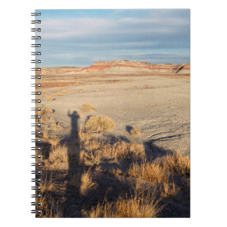 Desert Wave: Petrified Forest National Park Spiral Note Books