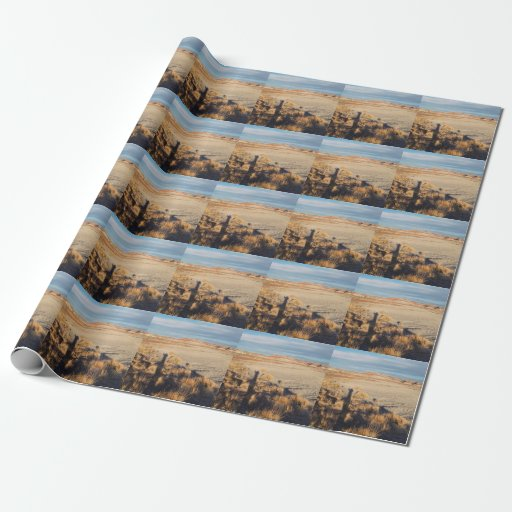 Desert Wave: Petrified Forest National Park Gift Wrap Paper