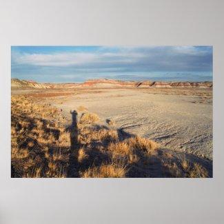 Desert Wave print