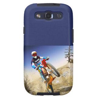 Desert Wheelie Motocross Samsung Galaxy SIII Cover