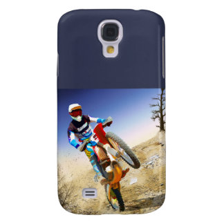 Desert Wheelie Motocross Galaxy S4 Cover