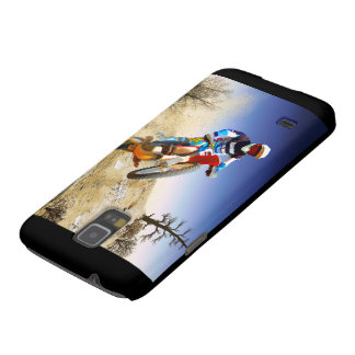 Desert Wheelie Motocross Galaxy S5 Case