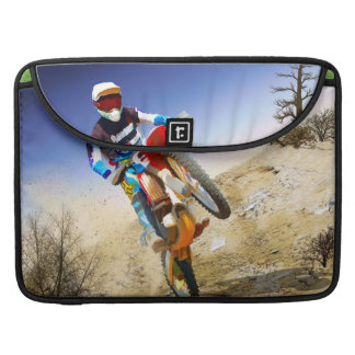 Desert Wheelie Motocross MacBook Pro Sleeve