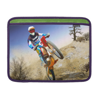Desert Wheelie Motocross MacBook Sleeve