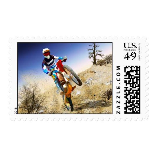 Desert Wheelie Motocross Postage