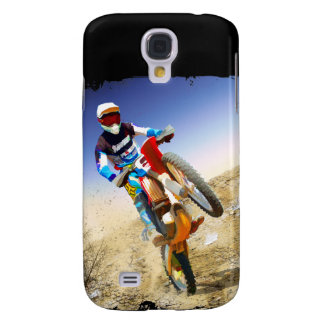 Desert Wheelie Motocross Samsung Galaxy S4 Case