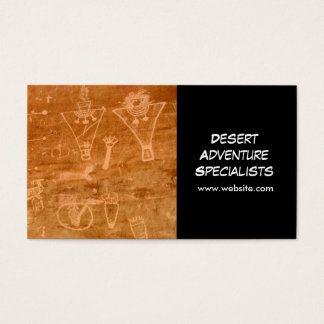 Desert, Wilderness, and Nature Tourism Business Card