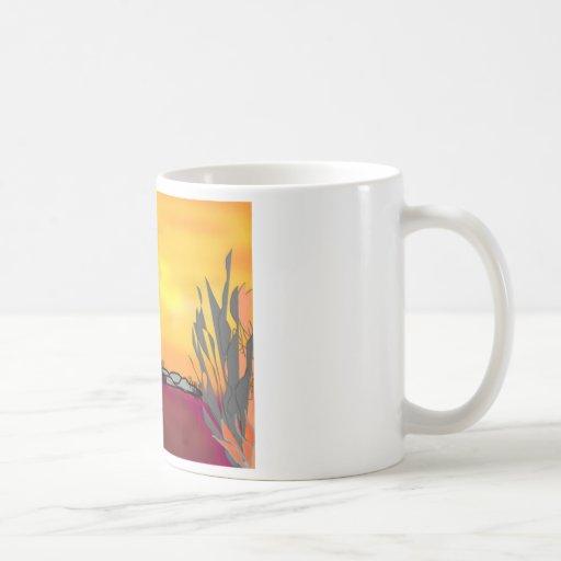deserted 1 classic white coffee mug