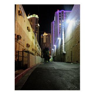 Deserted Alleyway Postcard