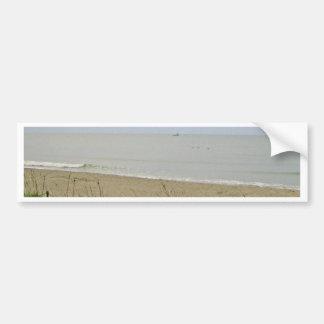 Deserted Beach Area Bumper Sticker