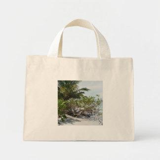 Deserted Beach Mini Tote Bag