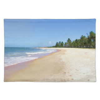 Deserted Beach Placemats