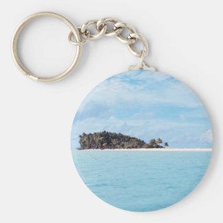 Deserted Island Keychain